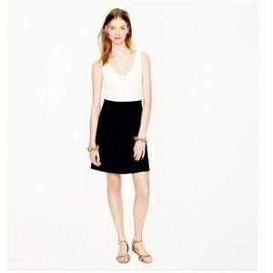 J.Crew Colorblock Ponte Dress Size 4